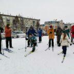 Урок физической культуры «Лыжная подготовка»